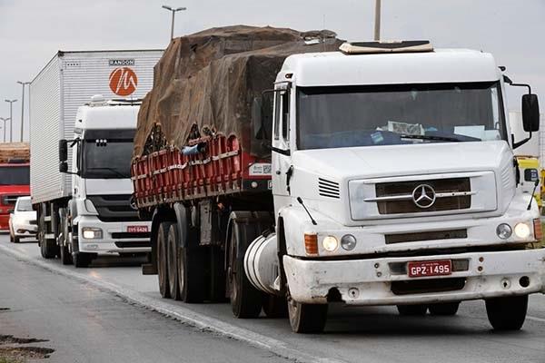 Caminhão tabela